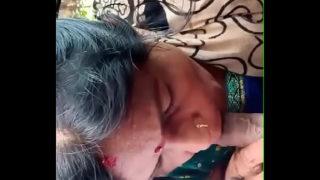 घर छोड़ने के बहाने नौकरानी से कार में चुसवाया हिंदी ऑडियो के साथ